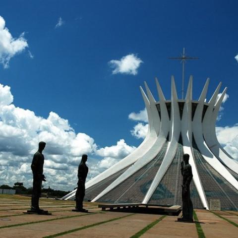Cathedral of Brasilia (Brazil)